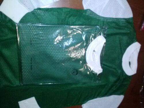 NOS 1970/'s Vintage Motocross Green Mesh Jersey Size Adult MEDIUM M t shirt