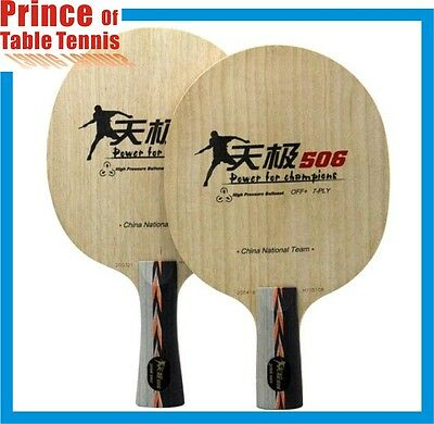 DHS TG506 CS Chinese Pen 7-Ply Wood Table Tennis Ping Pong Blade Racket Paddle