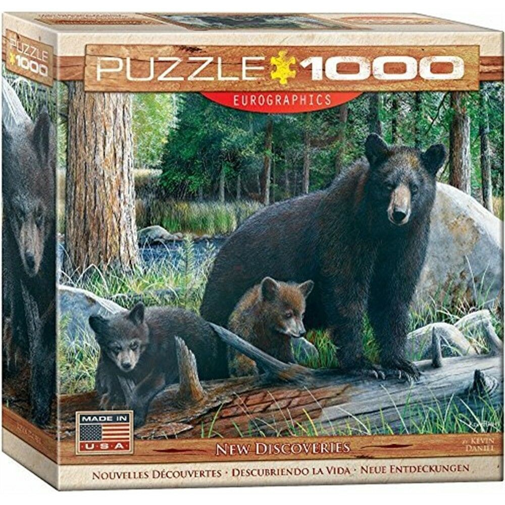 Eurographics Puzzle 1000pc -new Discoveries (8x8 Box) (mo) - New Puzzles 1000