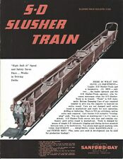 Equipment Brochure Sanford Day Slusher Train Mining Construction E5447