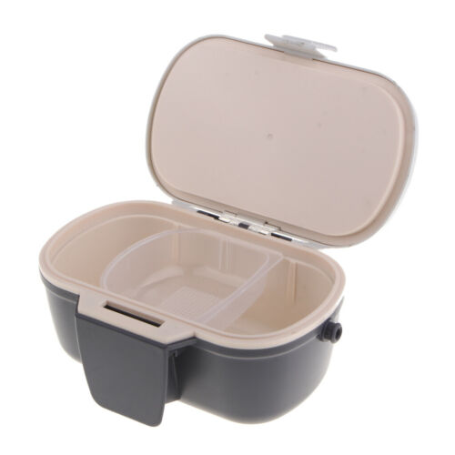 Portable Breathable Fishing Live Bait Container Holder Earthworm Storage Box