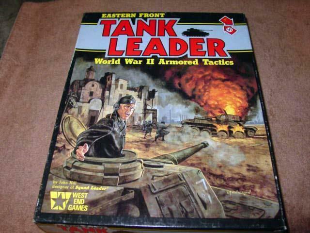 West end games-Tank Leader-Eastern Front-guerre mondiale  deux Blindés Tactique (40% UNP)  remise élevée
