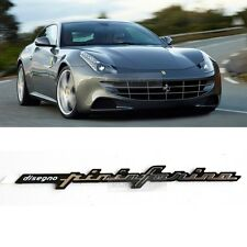 Front Rear Side Trunk Ferrari Pininfarina emblem Point Logo Badge for Ferrari