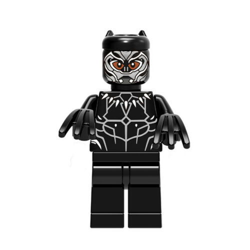 1PCS Collection Kids Toy of ABS Marvel T/' Challa Talking Plush Figure 4.5CM