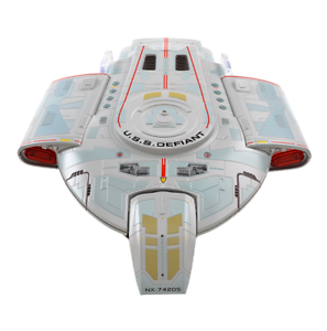 EAGLEMOSS-STAR-TREK-USS-Defiant-NX-74205-XL-MEGA-RARE