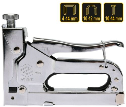 600 Klammer 6-14 mm U-Kl 10-12 mm Nägel 10-14mm Metall Handtacker für Heftk