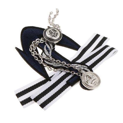Nautique Thème Ancre tissu badge broche pin VINTAGE UNIFORME Insigne Homme