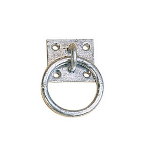 Single item £5.95 or BUY TWO for £8 ! STUBBS Galvanised tie ring plate