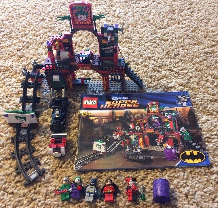 The Dynamic Duo Funhouse Escape LEGO Batman 5 Minifigs Manual 100% complete 6857