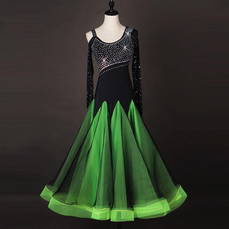 NEU Latino salsa Kleid TanzKleid Standard LatinaKleid Latein Turnierkleid FM244