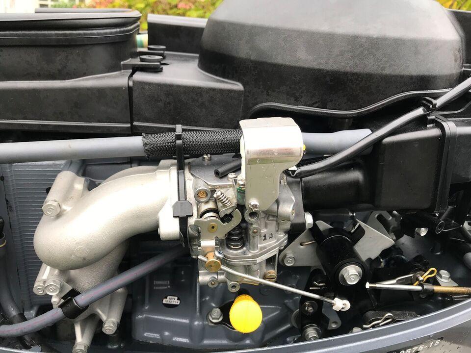 Yamaha påhængsmotor, 25 hk, benzin