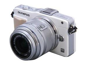 OLYMPUS-E-PM2-White-Micro-Four-Thirds-Interchangeable-Lens-System-Camera-with-Si