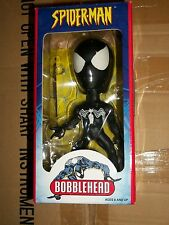 Marvel Toy Site Exclusive BLACK SUIT SPIDER-MAN Bobblehead