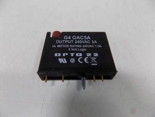 OPTO 22 VOLT LOGIC DIGITAL I//O MODULE G4 OAC5A *PZB*