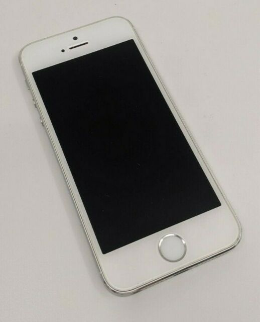 Pre-Owned Apple iPhone 5s 32GB White AT&T Model A1533 Good Condition