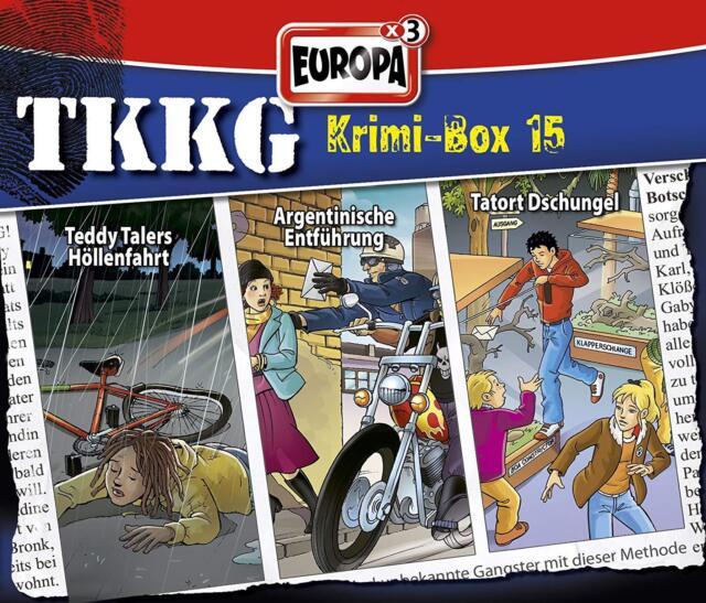 3 CDs * TKKG - HÖRSPIEL - KRIMI - BOX 15 - FOLGEN 126,136,169 # NEU OVP =