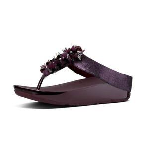 c9bfa9730c6145 FitFlop Womens Boogaloo Toe Post Flip Flop- Pick SZ US 06 UK 04 EUR ...