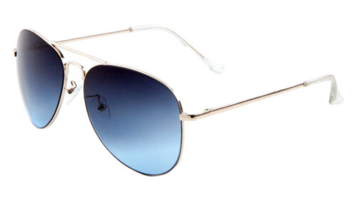 Metal Unisex Aviator Sunglasses W//Oceanic Color Lens