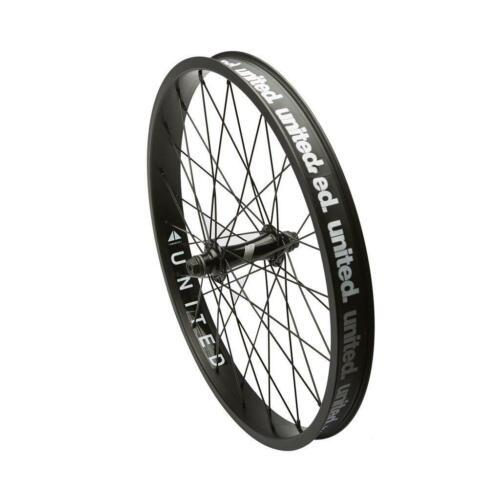 UNITED BMX Supreme Front Wheel SU3 Black