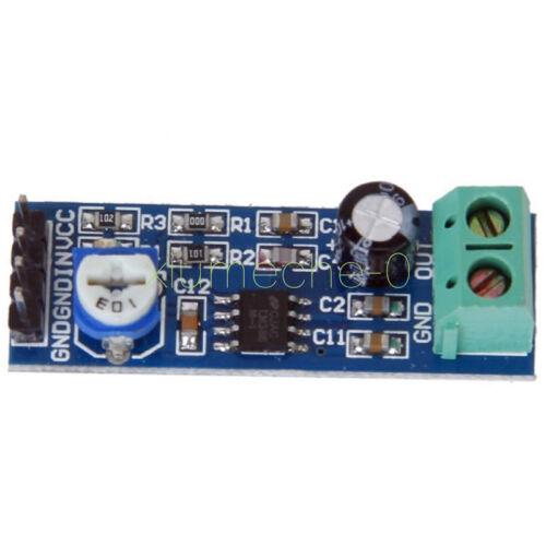 2PCS 200Times gain 5V-12V LM386 Audio Amplifier Module 10K Adjustable Resistance