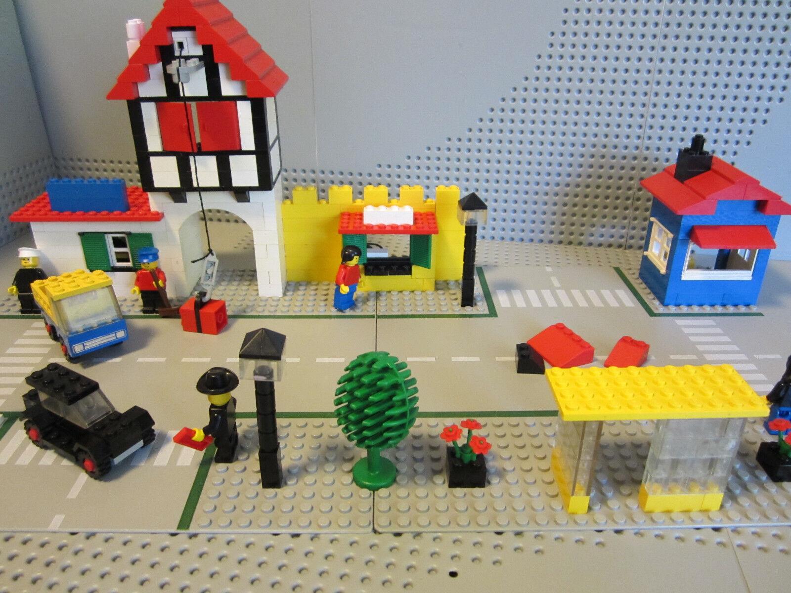 LEGO 1589 Town Square - Town City Alt Stadt Stadtviertel von 1978