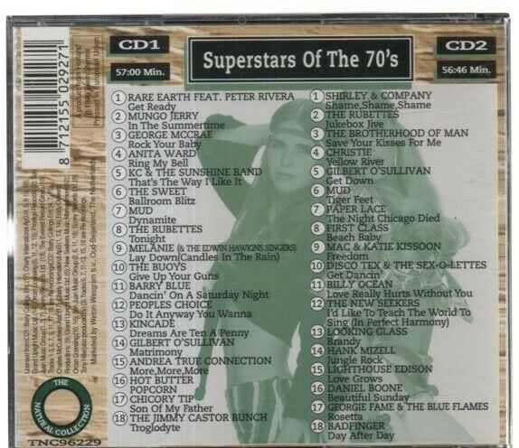 Various Artists - Superstars of the 70s (double CD 1996)