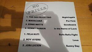 Various-No-Frills-1994-France-LP-Jazz-Funk-Bossa-Nove