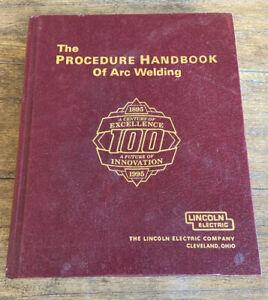 Procedure Handbook of Arc Welding 13th Edition 1994 ...