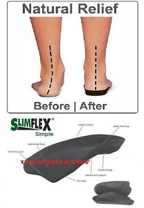 Slimflex-Simple-Insole-Foot-Orthotic-Arch-Heel-Support