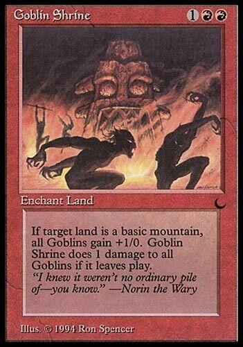 4x Goblin Shrine NM-Mint English The Dark MTG Magic