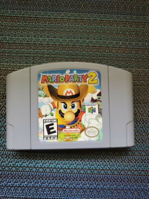 AUTHENTIC - Mario Party 2 (64, 2000) - Tested Working!