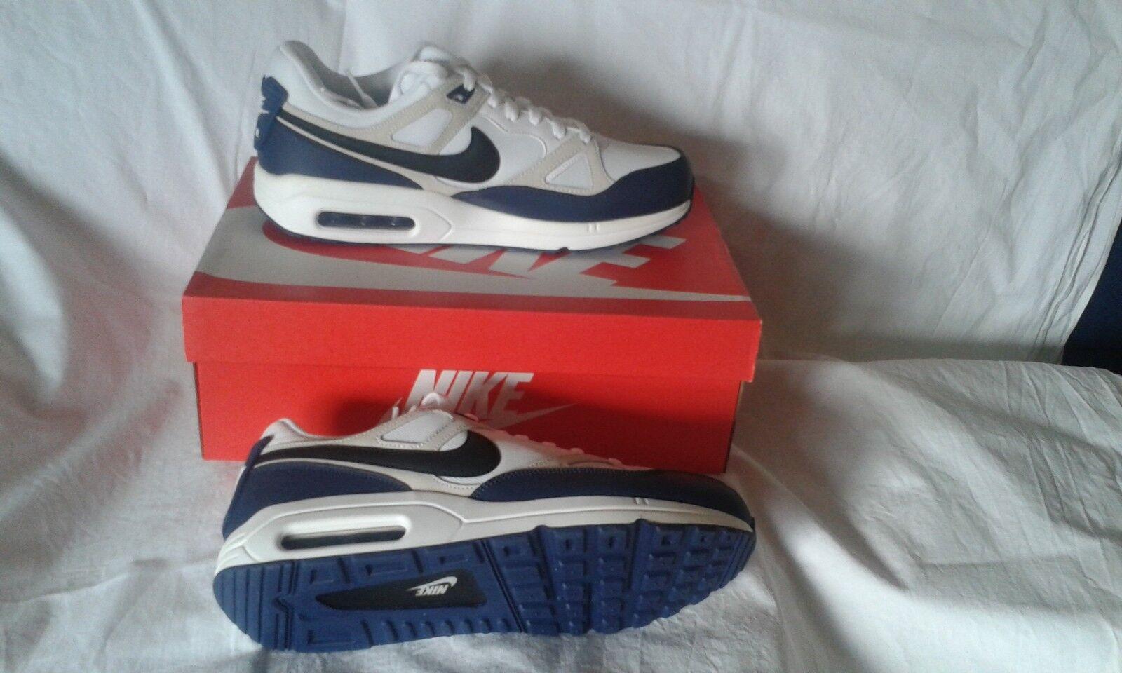 Nike Air Max SPAN TXT weiß/navy Gr. 42,5