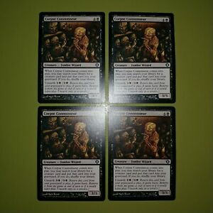 Corpse-Connoisseur-x4-Shards-of-Alara-4x-Playset-Magic-the-Gathering-MTG