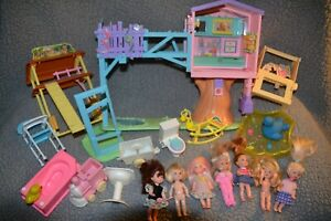 2001 Kelly Club Barbie Lots Of Secrets Clubhouse Playset ...