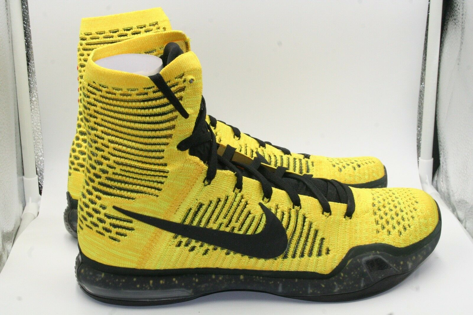 Nike Kobe amarillo x Elite Coda Tour amarillo Kobe negro tamaño 10,5 DS Opening Night W recibo 3587df