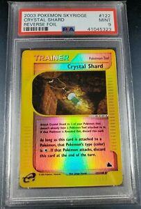 Pokemon-PSA-9-Crystal-Shard-Reverse-Holo-Skyridge-Mint-122-144