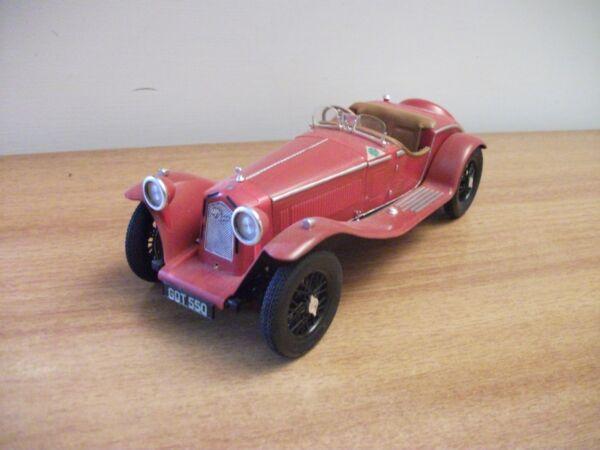 Alfa Romeo Spider 8c 2300(1932)kit Plastica No Tin Scala1/20 Bandai Japan Anni70