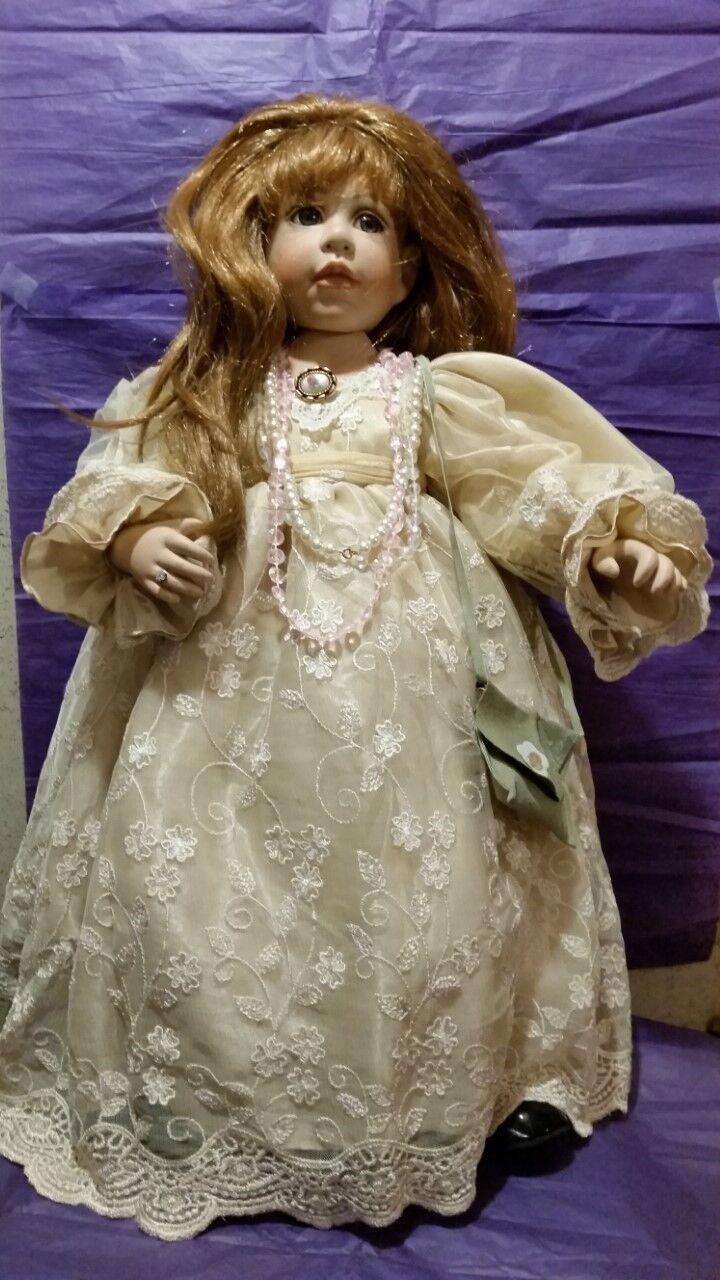 23  Muñeca de porcelana por rosado Marie Strydom