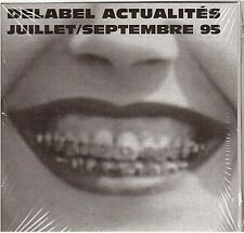 DELABEL ACTUALITES juiillet - septembre 95 CD PROMO neuf ARNO iam ASSASSIN verve