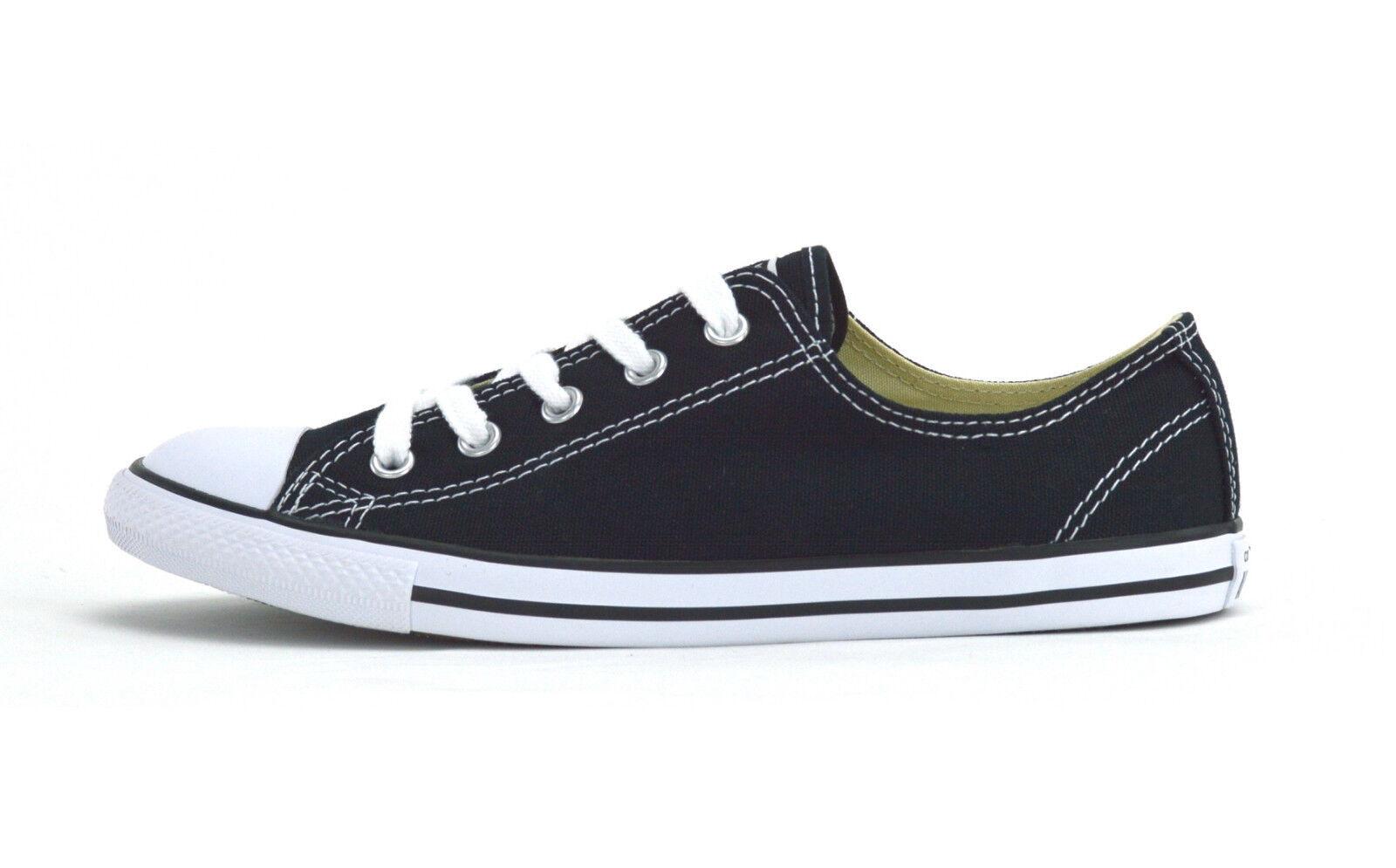 Converse All DAINTY Star CT DAINTY All OX -530054 C-Chaussures Femme Baskets-Noir/Blanc-Neuf 9cdf2c