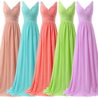 Maternity Long Pageant Evening Gown Formal Bridesmaid Prom Maxi Dress Plus Size