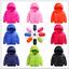 Boys-Girls-Down-Jacket-Coat-Puffer-Hooded-Kids-Outwear-Baby-Warm-Snowsuit-Padded thumbnail 1