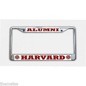 Harvard College Alumni Metal Usa Made Chrome License Plate