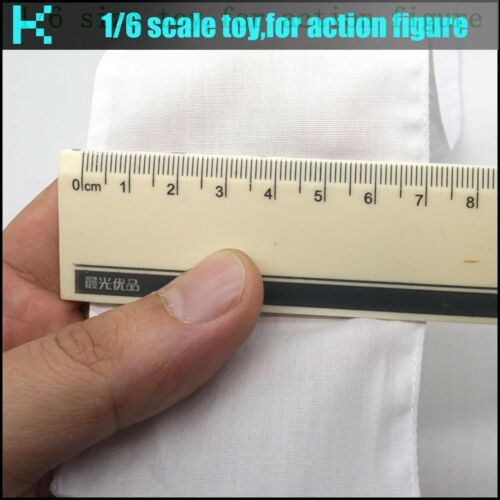 37*7CM L23-13 1//6 scale action figure White scarf