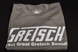"Gretsch ""that Great Gretsch Sound"" Tee Shirt Small Slate Dessins Attrayants;"