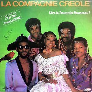 La-Compagnie-Creole-LP-Vive-Le-Douanier-Rousseau-France-VG-VG