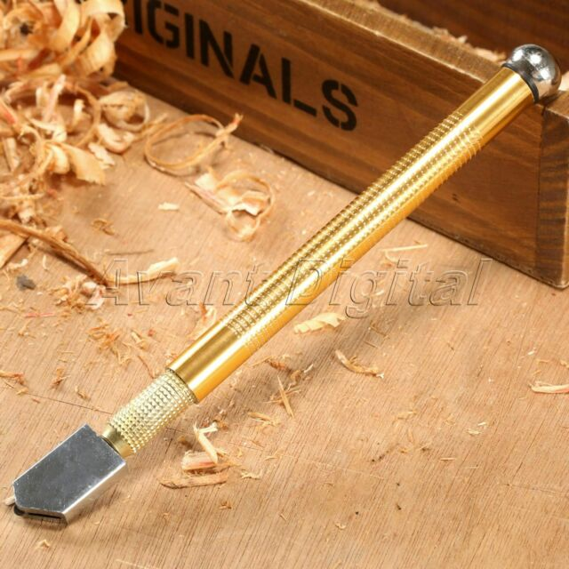 10.5cm Professional Oil Feed Glass Cutter Plastic Handle Glass Cutting Tools