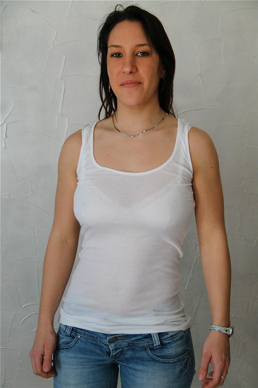 T-Shirts Hafenarbeiter Weiß Stretch High Use Größe L Neue Etikett Wert