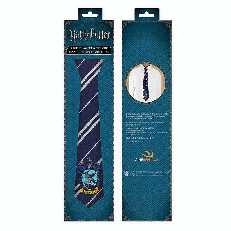 Harry Potter Ravenclaw Kids Necktie - Tie Child Ravenclaw Cinereplicas