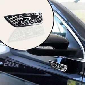 Car Body Side Vents Modified Rline Mark Decoration Sticker